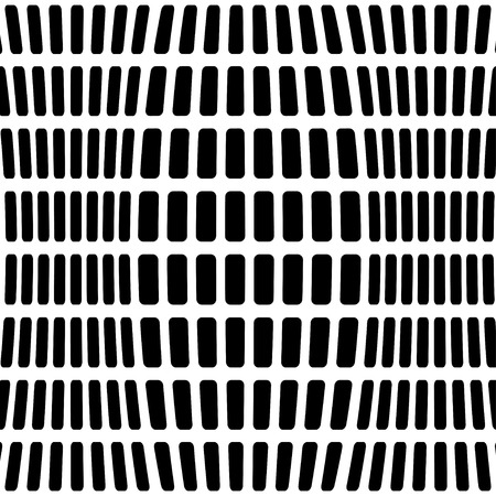 Abstract black and white geometric background. Vector. Ilustrace