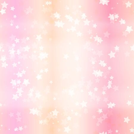Soft background with stars. Repeating pattern for your design. Vector.