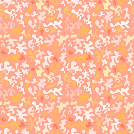 seamless background pattern, with paints. vector