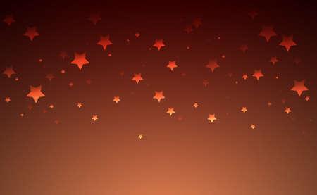 Stars on the gradient background, design for sunrise, sky or magic.
