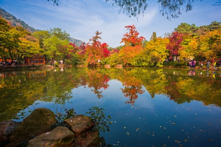 lakeview: Tianpingshan autumn scenery