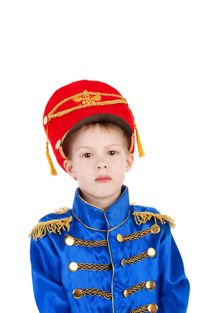 closeup image of the cute little hussar