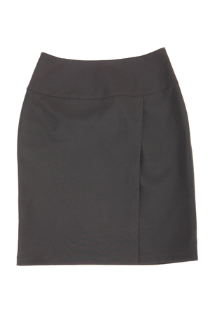 image of the grey woman skirt, classic wear
