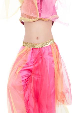 pretty little girl in the costume of the eastern beauty Standard-Bild