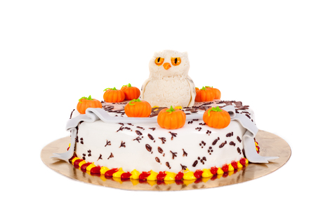 delicious cake made for the child birthday Stock Photo