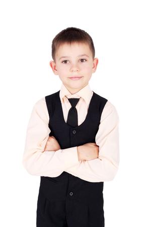 cute handsome young gentleman closeup
