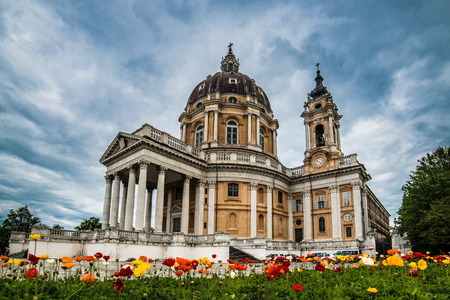 piedmont: basilica di superga - turin - piedmont - italy Stock Photo