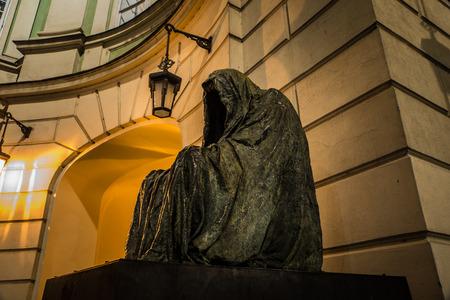 lonelyness: statue the commendatore - prague - czech republic