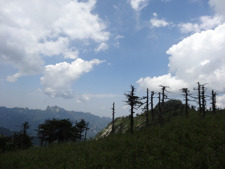 landforms: Qinling Mountains scenery