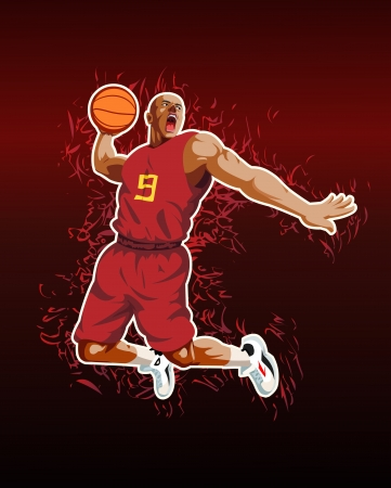 Basketball Stock Vector - 17993552