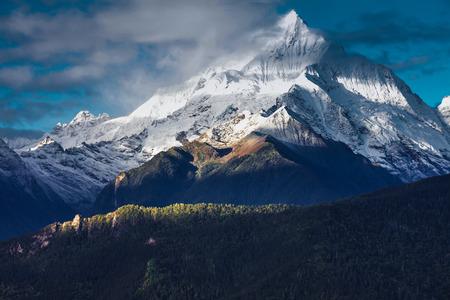 The kawaboge peak of Meili snow mountain