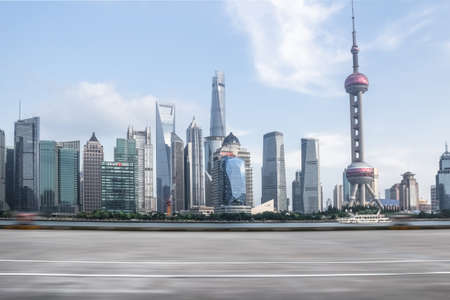 Cityscape in Shanghai, China
