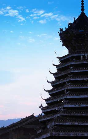 Ancient oriental building