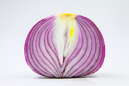 onion on white background 版權商用圖片