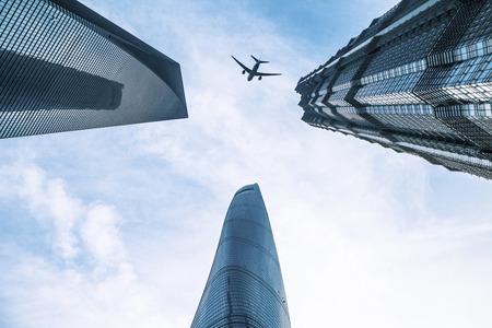 Shanghai Lujiazui landmarks in Shanghai, China