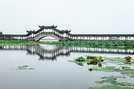 Bridge of Jinxi Ancient Town, Suzhou City, Jiangsu Province, China
