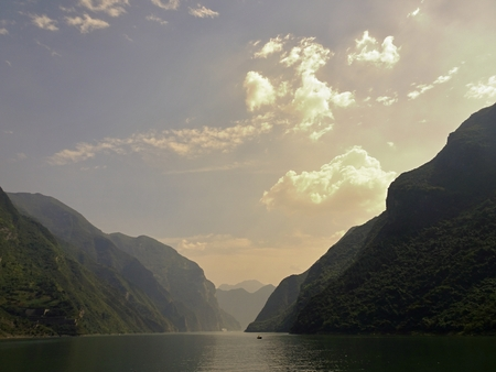 yangtze: The three gorges and Yangtze river in China