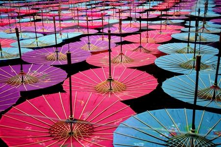 parasols: Colourful parasols