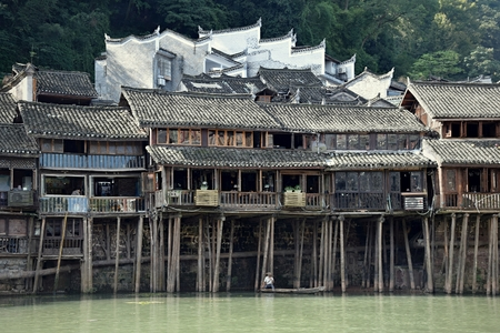 Ancient town in Hunan province in China.