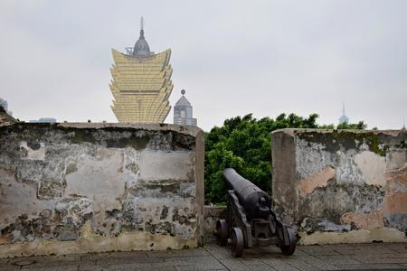 The Cannon aims at Casino Grand Lisboa in Macau