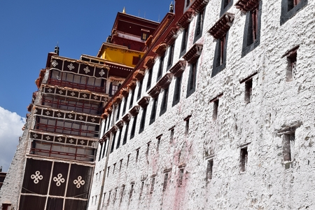 The Potala Palace in Lhasa, Tibet Autonomous Region, China.