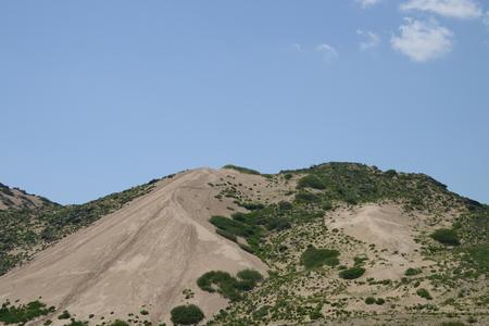 desert footprint: Desert hills