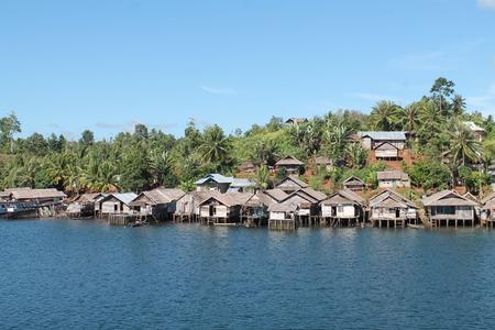 gypsies: village of sea gypsies,Togian islands