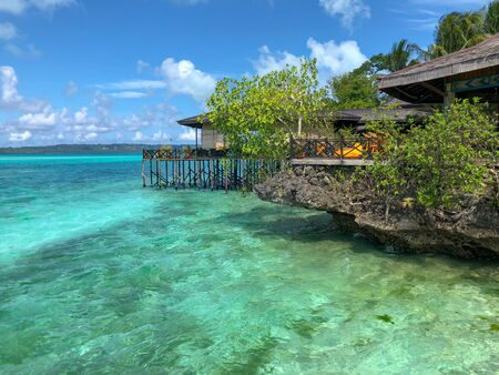 part of a luxury resort in maratua island, derawan archipelago