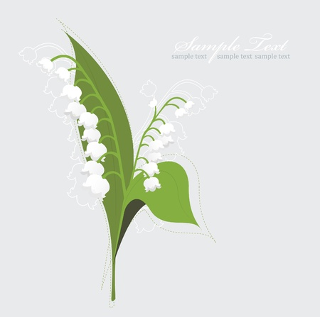 lily of the valley: Lily Of The Valley background