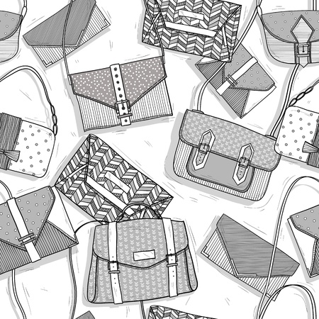 Fashion bags seamless pattern for girls Stock Vector - 15885941