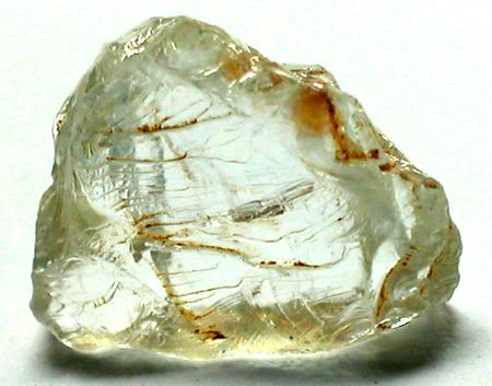 beryl: Aquamarine rough beryl