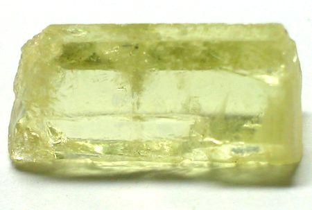 Giallo berillo grezzi gemma Archivio Fotografico - 4405066