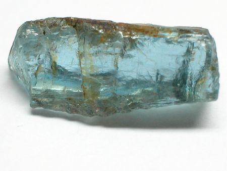 scapolite: Aquamarine rough gemstone