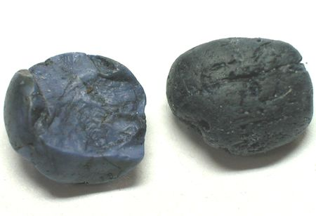spinel: Blue sapphire