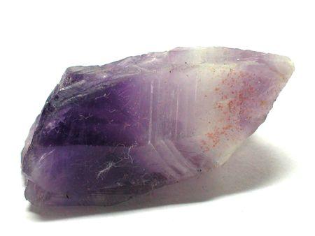 Amethyst rough gemstone photo