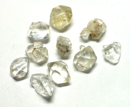 scapolite: Herkimer quartz