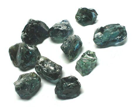 scapolite: Sapphire rough gemstones