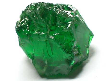 beryl: Green tourmaline Stock Photo