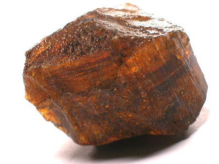 tourmaline: Yellow tourmaline rough gemstone