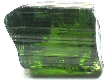 tourmaline: Green tourmaline Stock Photo