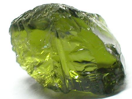 green tourmaline: Green tourmaline from Tanzania Stock Photo