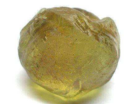 amethyst rough: Green garnet