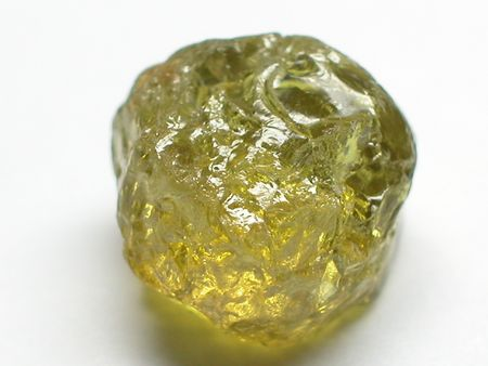 spinel: green garnet Stock Photo