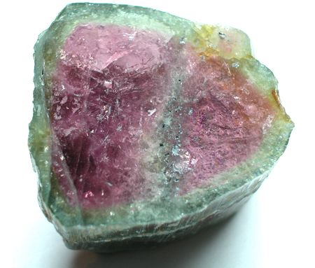 tanzanite: Watermelon tourmaline