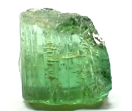 tanzanite: green tourmaline