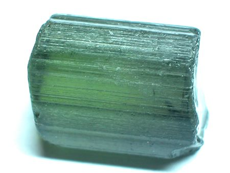 spinel: Green tourmaline Stock Photo