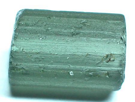 amethyst rough: Green tourmaline Stock Photo