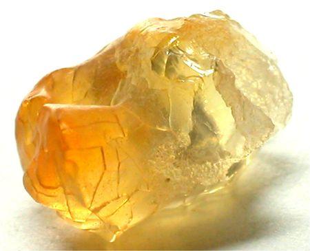 spinel: Fire opal