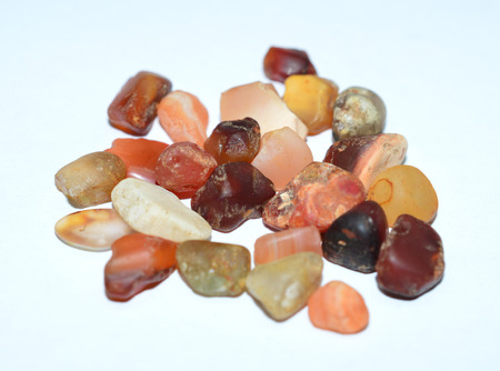 gemstones: Carnelian tumbled gemstones