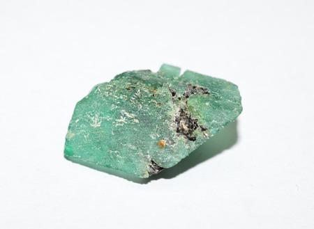 emerald: Emerald rough gemstone